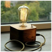 Светильник из дерева от производителя EcoLight.