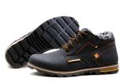 Мужские зимние кожаные ботинки Columbia,  теплые,  стильные. Кожа. Безна