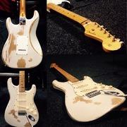 Электрогитара Fender Stratocaster Japan vintage 57 1989г