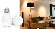 Умная SMART LED лампа,  дистанционное управление