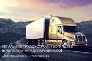 Легальное трудоустройство в Литве водителям-международникам!