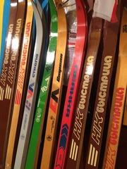 Лыжи беговые крепление на лыжи пружина НОВОЕ