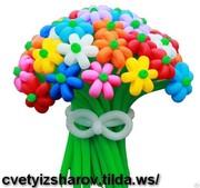 Цветы из шаров