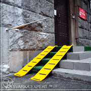 Пандус для инвалидных и детских колясок в Киеве.