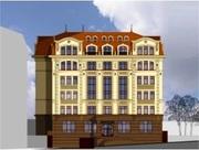 С участком под строительство 8-ми этажного жилого дома.