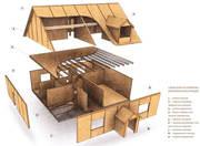 Строим уютные дома с SIP панелей под ключ.