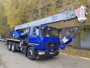 Новый втокран КС-5571BY-С-22 Машека 32 тонны на шасси МАЗ-6312С3