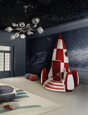 Итальянская мебель для детских комнат: кроватки,  кровати