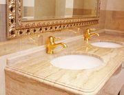 Итальянские изделия из мрамора: мозаика,  ванны,  плитка,  столешницы