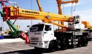 Продажа новых автокранов КС-55735-6 Ивановец 35 тонн на шасси КамАЗ
