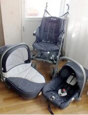 Коляска 3 в 1 (Prenatal. Италия).