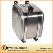 Бак гидравлический (гидробак) бокового крепления 160 л алюминиевый