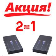 Магнитный USB-кабель Shogun с коннектором Lightning Grey H1