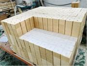 Производитель прессованных блоков (кубиков,  шашек)