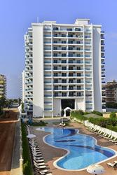 66 м2;  меблированная квартира на продажу с прямым видом на море