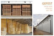 GEFEST DKB – современные промышлен. сушильные камеры для сушки дерева.