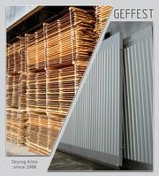 GEFEST - современные промышленные сушильные камеры для сушки древесины