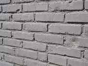 Покраска - бетонных и кирпичных поверхностей - краскопультом