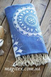 Полотенце SoundSleep Goa пляжное 100х180 см blue