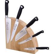 Деревянный магнитный блок для ножей