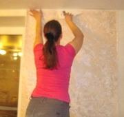 Поклейка обоев Покраска потолков стен