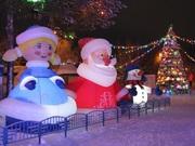 Надувные новогодние фигуры Inflatable Christmas Shapes