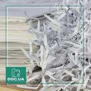 Уничтожение документов на промышленном шредере в Киеве