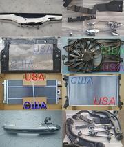 Радиатор, рычаг фиат 500 США, usa панель, фара, крыло, капот, бампер