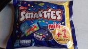 Конфеты драже Smarties (смартис) в натуральной глазури