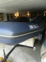 продам лодку пвх бриг балтик 380 + прицеп