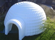Надувная палатка Иглу Igloo inflatable tent украинского производства