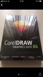 Лицензионная CorelDRAW Graphics Suite X6.
