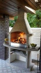 Садовые камины-барбекю,  с гарантией производителя