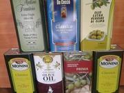 Масло оливковое.  Италия,  Испания.Греция. 5л.