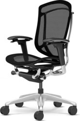 Офисные кресла  OKAMURA CONTESSA Black