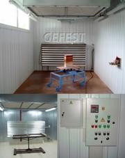 Мобиль промышленные покрасочные камеры GEFEST PCM для  окраски изделий