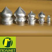 Алюминиевые наконечники для металлических заборов и оград.