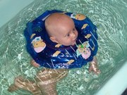 Круг на шею Baby Swimmer для купания детей от0 до24 мес.