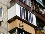 Раздвижные балконы,  веранды,  беседки.  Безрамное остекление
