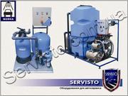 Система очистки воды,  рециркулятор воды,  оборудование для очистки воды
